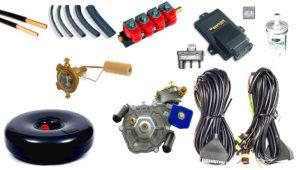 Оборудование для ГБО на дизельный двигатель: фото